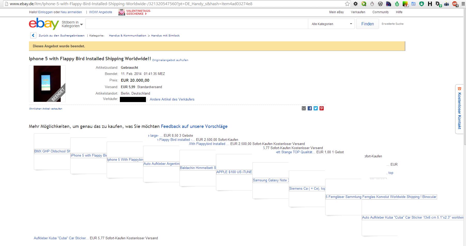 ebay.de Bildergalerie kaputt