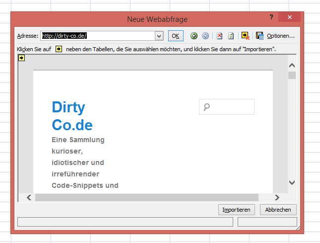 Internet Explorer 11 nach exel exportieren - Schritt 3