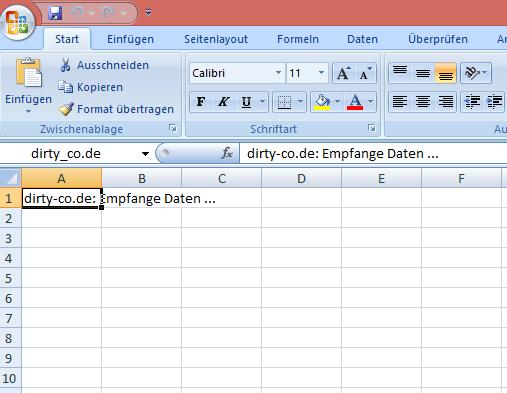 Internet Explorer 11 nach exel exportieren - Schritt 4