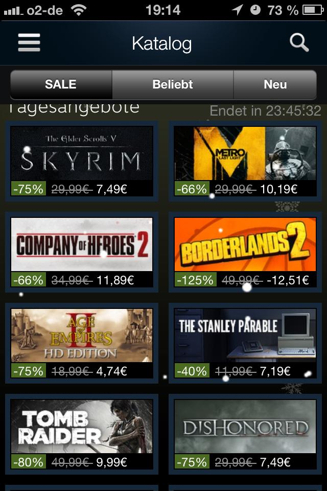 Steam Borderlands 2: 125% Rabatt
