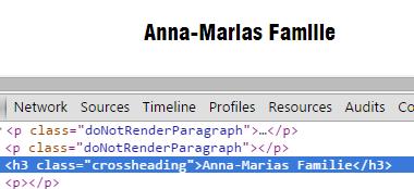 bild.de Schriftart Fail Anna-Marias Familie : i sieht aus wie l