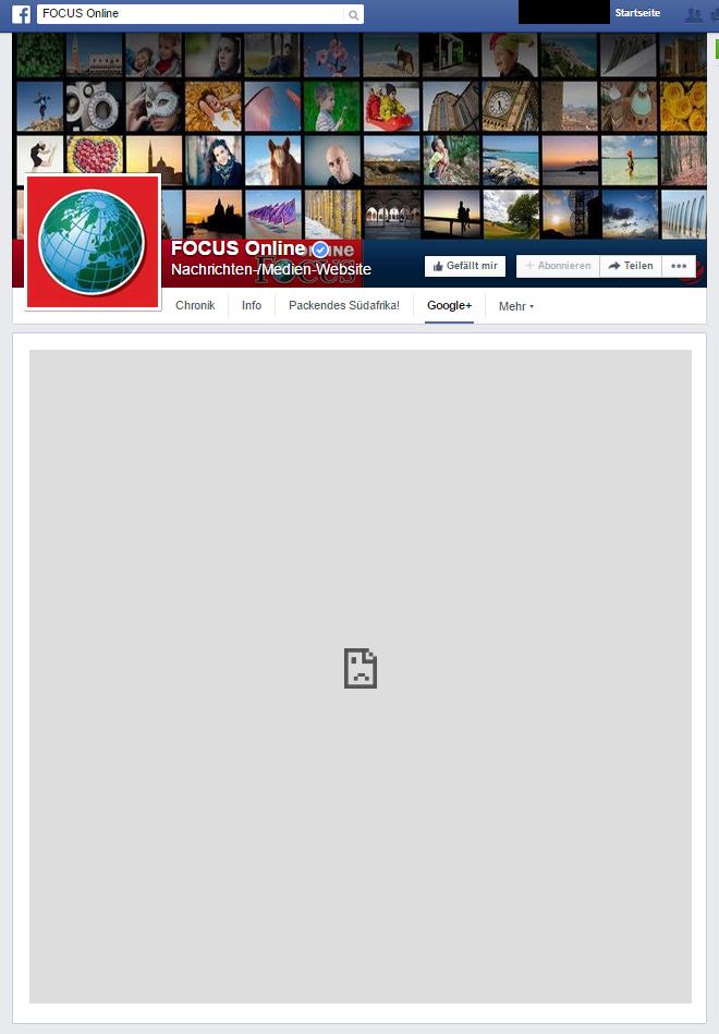 facebook.com -Focus Online - Google+ - Tab